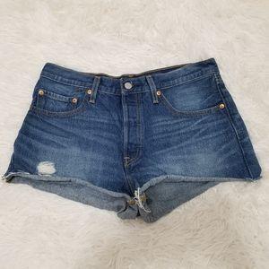 Levi's 501 Denim Shorts, 30
